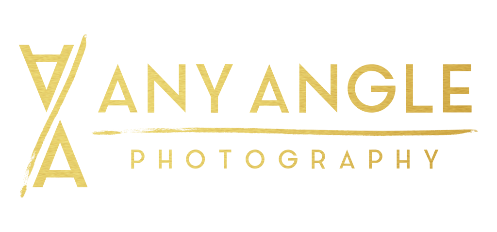 Any Angle Photography Logo - Gold