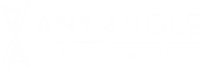 Any Angle Photography Logo - White