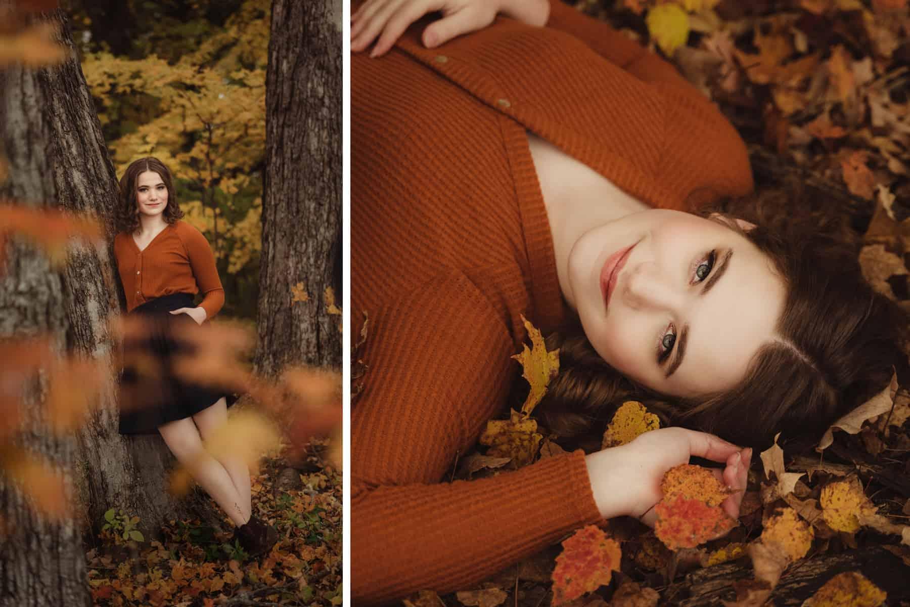 senior girl fall