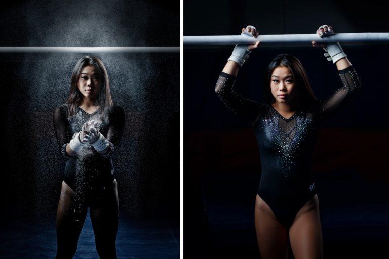senior girl gymnastics